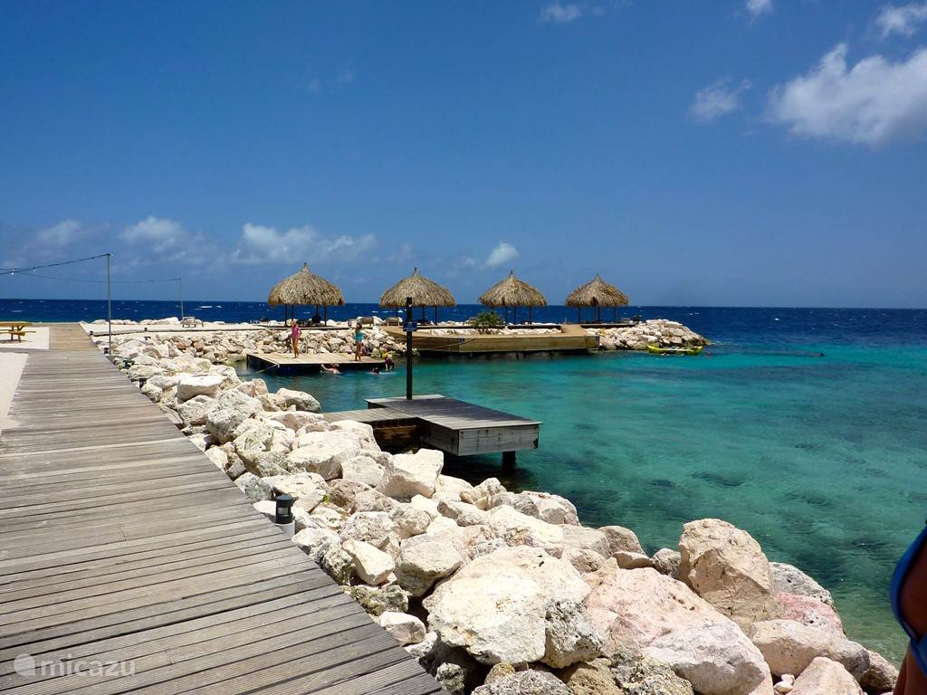 The most beautiful bay in Curacao