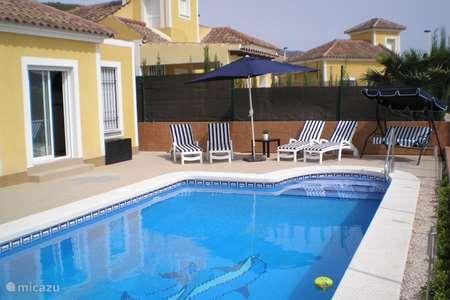 Vakantiehuis Spanje, Costa Cálida, Mazarrón vakantiehuis Casa de la Desaceleración