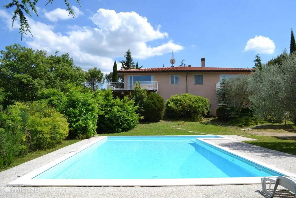 Vakantiehuis Italië, Umbrië – appartement Carse Sparsa