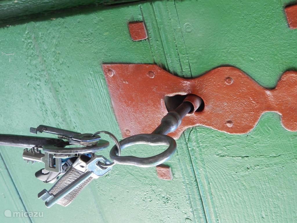 ook de sleutels zijn van ouderwetse kwaliteit