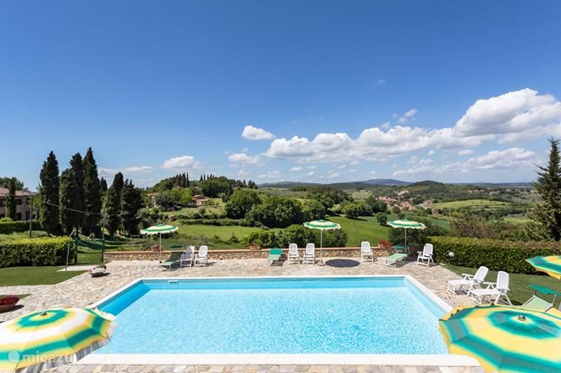 Vakantiehuis Italië, Toscane, Casole d`Elsa Vakantiehuis Casa Noce