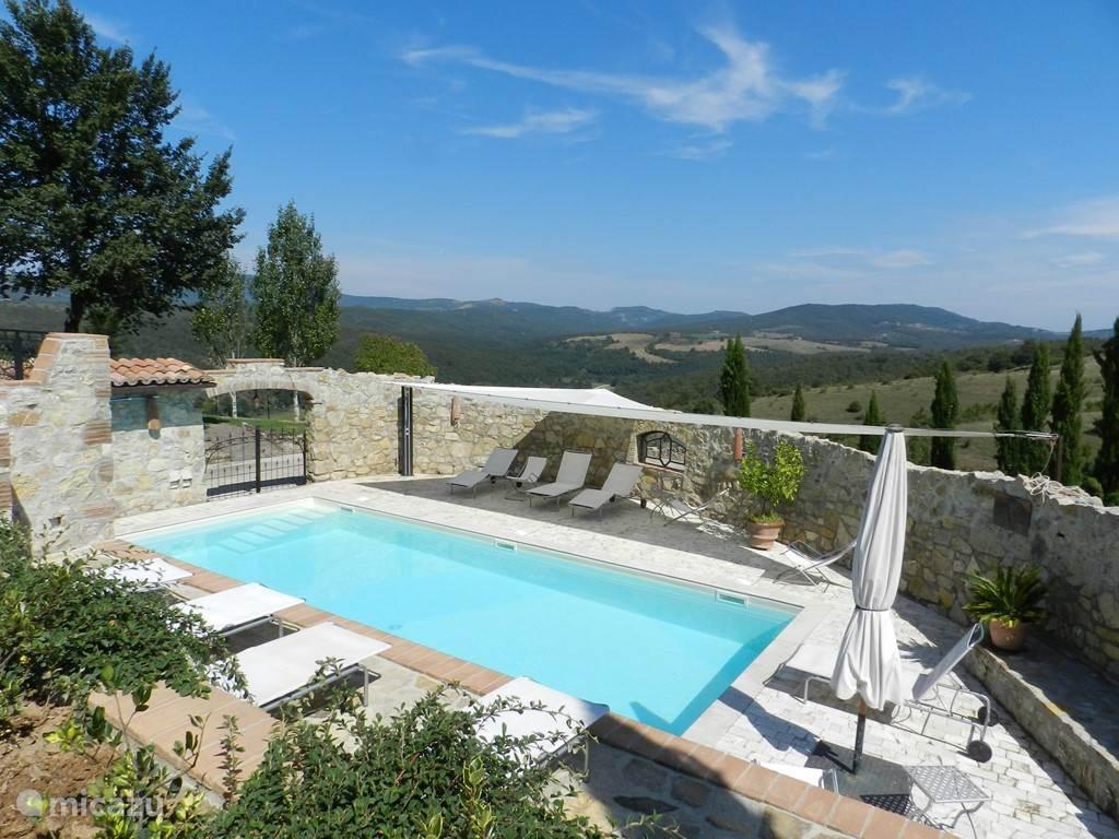 Vakantiehuis Italië, Umbrië, San Venanzo - appartement Polmone Turismo Verde, app. Camino