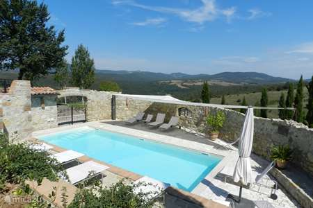 Vakantiehuis Italië, Umbrië, San Venanzo appartement Polmone Turismo Verde, app. Camino