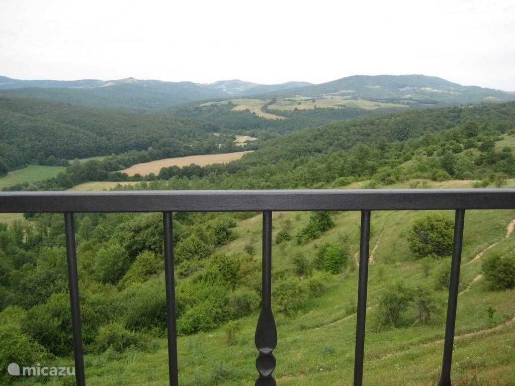 Uitzicht op het dal