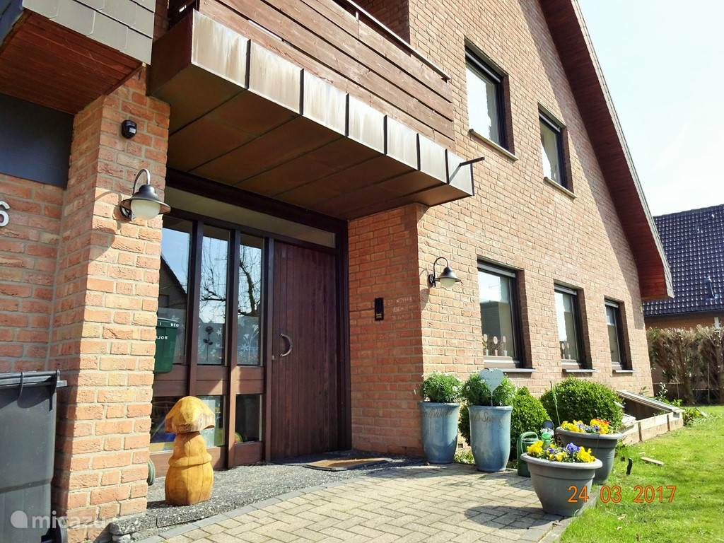 Vacation rental Germany, North Rhine Westphalia, Horstmar apartment Haus 'Am Herrenholz'