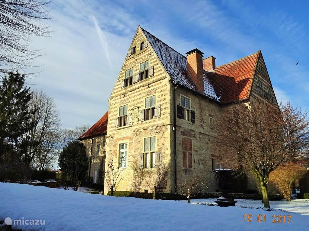 Borchhorsterhof, één van de Burgmannshöfe.