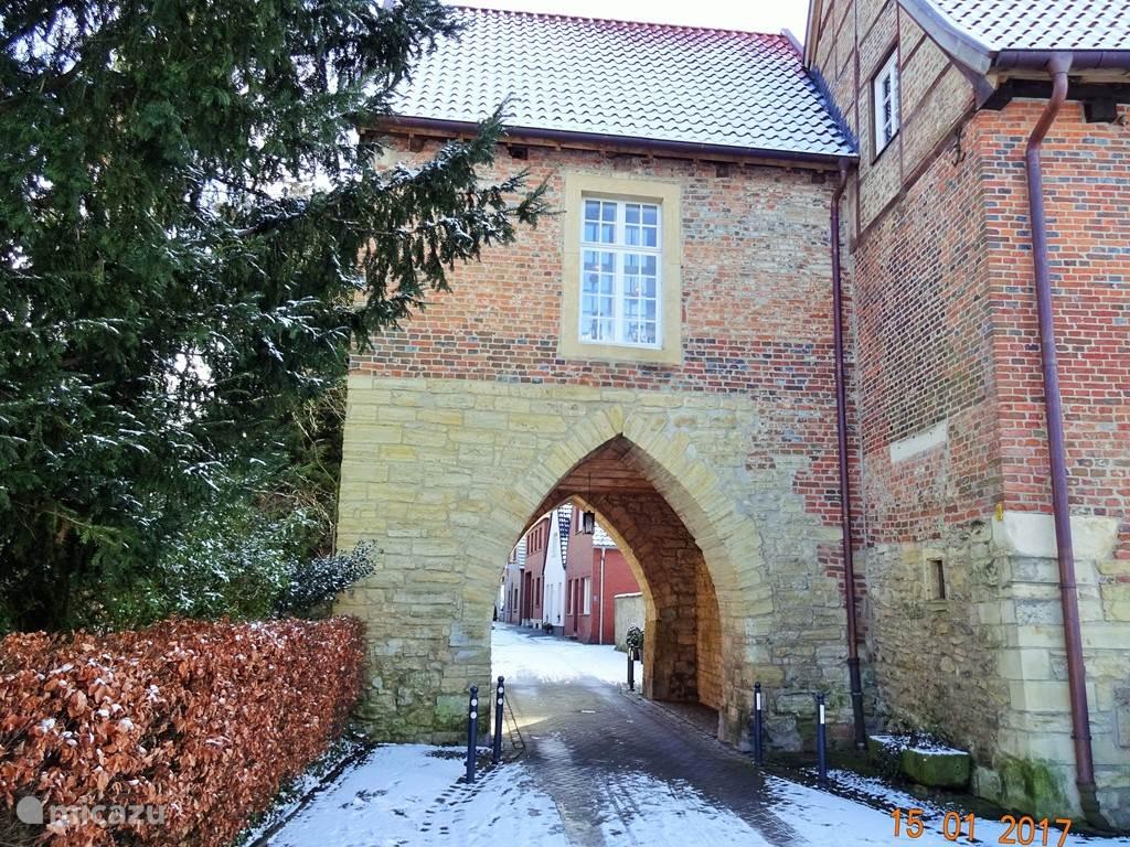 De Schlosstor in Horstmar.