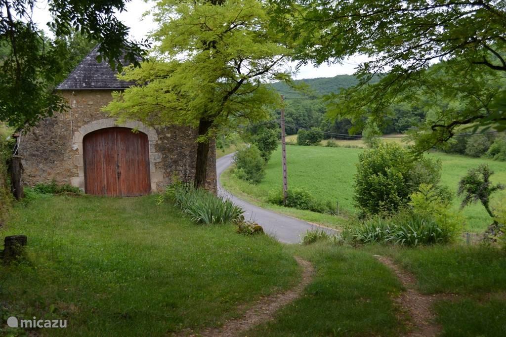Le Manoir - uitzicht over de vallei van de Boulet