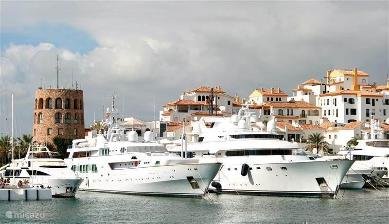 De jetset haven Puerto Banus