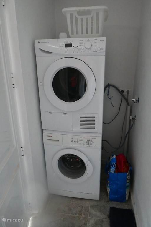 Wasmachine en wasdroger