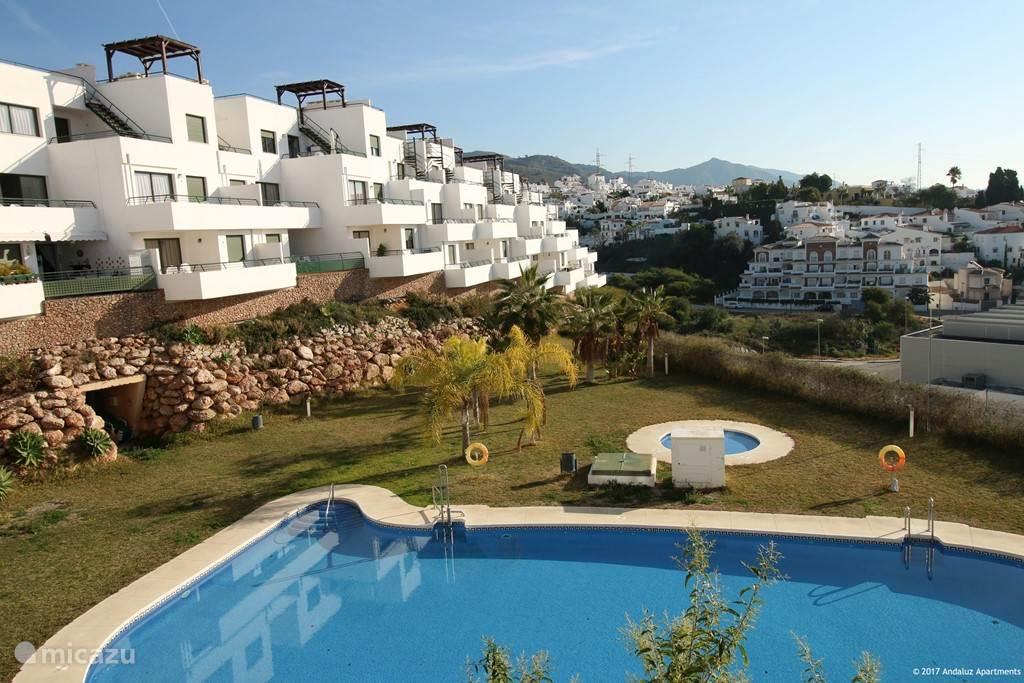 Vacation Rental Spain, Costa Del Sol, Nerja Apartment Andaluz Apartments    MDN04 ...
