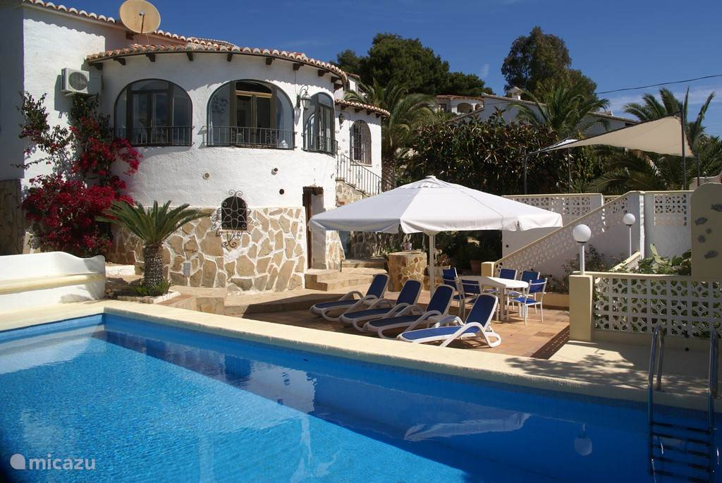 Vakantiehuis Spanje, Costa Blanca, Javea Villa Super Villa 6-8 p met privé zwembad