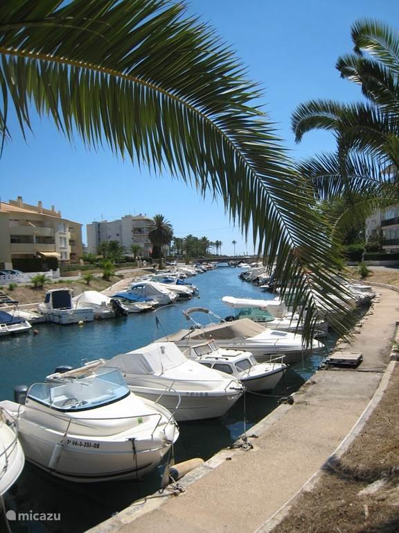 De haven bij El Arenal