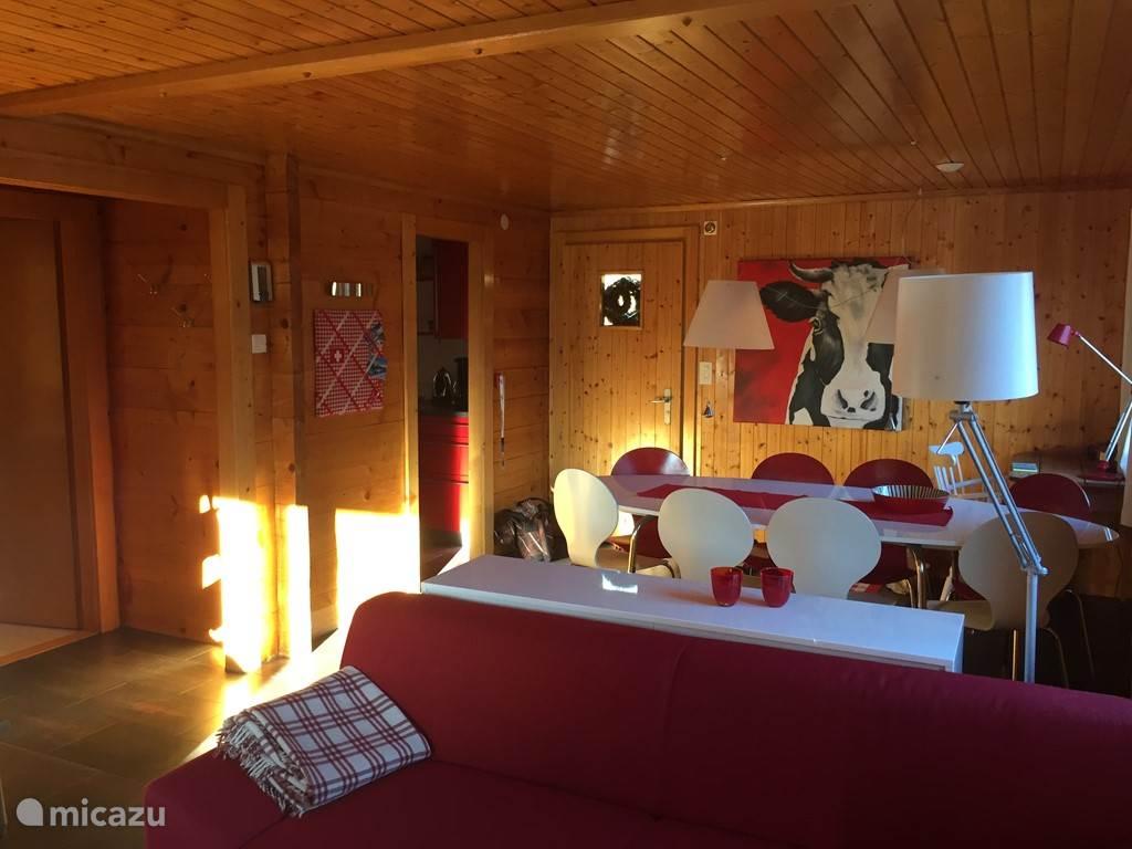 Vakantiehuis Zwitserland, Wallis, Fiesch Appartement Chalet Respiri bovenwoning
