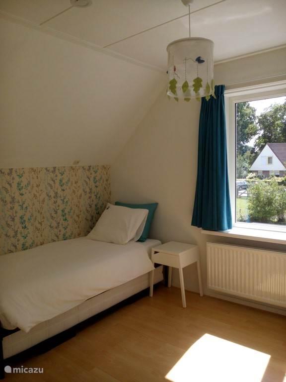 slaapkamer 1, mogelijkheid tot 1 of 2 persoonsbed