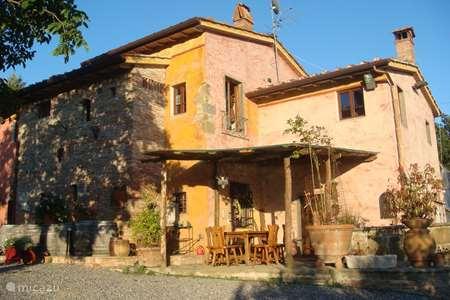 Vakantiehuis Italië, Toscane, Uzzano appartement De Gelukkige Ezels - Fontana