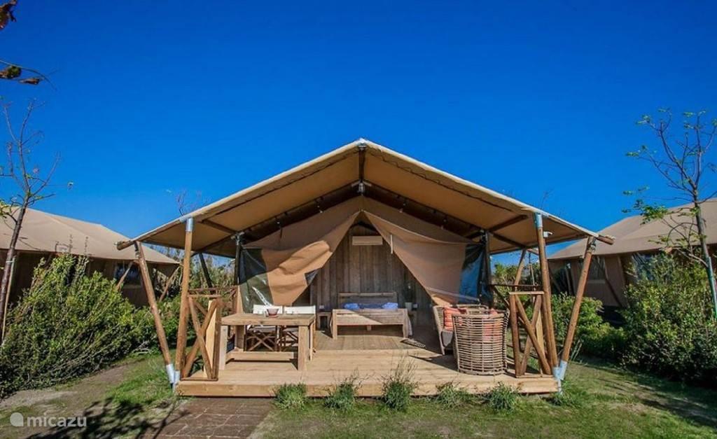 Vacation rental France, Languedoc-Roussillon, Argeles-sur-Mer - glamping / safari tent Safari - Glamping Argeles-sur-Mer