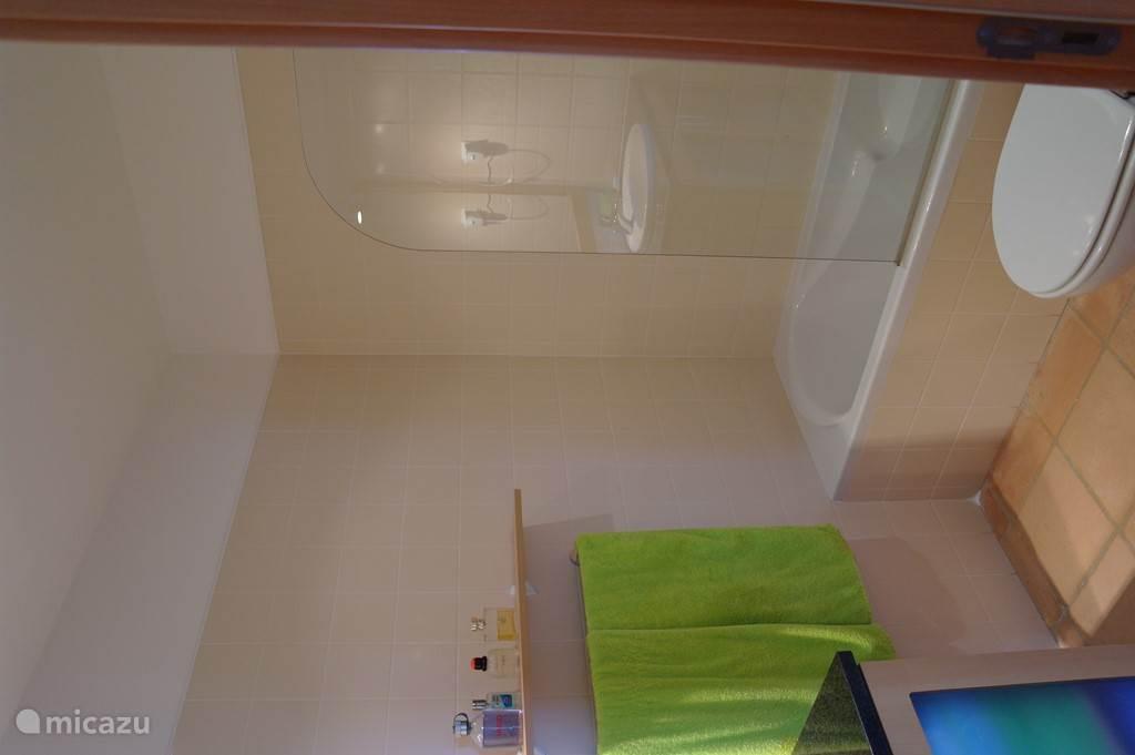 badkamer en suite bij slaapkamer 1