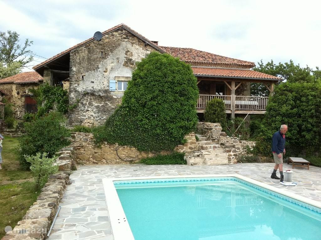 grote huis met zwembad