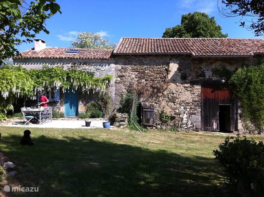 het kleine huis naast de schuur
