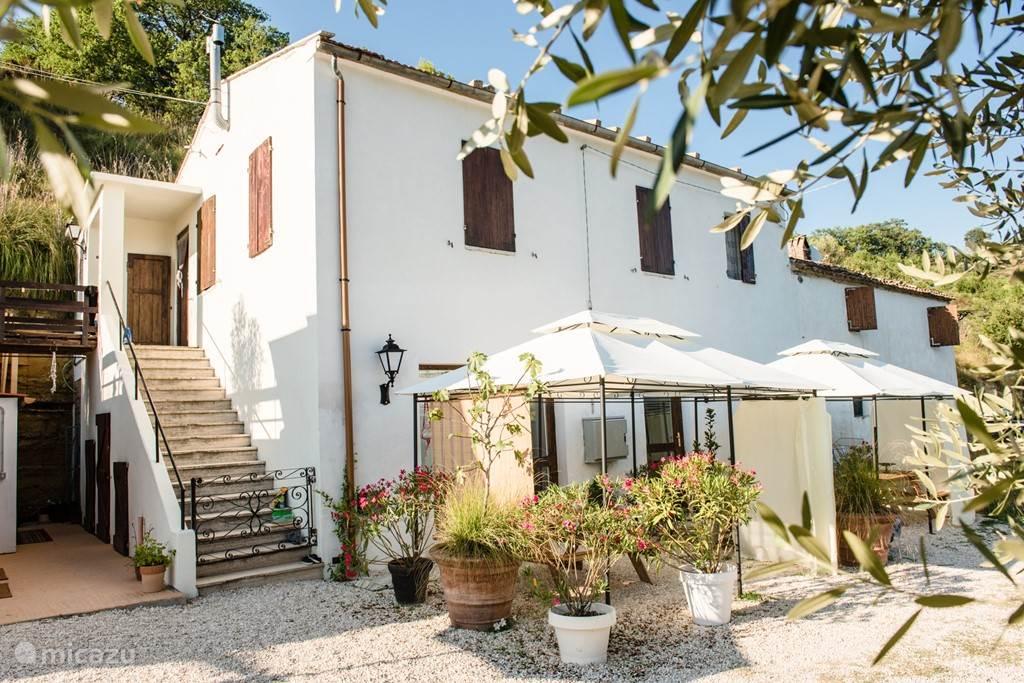 Vakantiehuis Italië, Marche, Montefiore dell' Aso - vakantiehuis Casa di Bella Vita