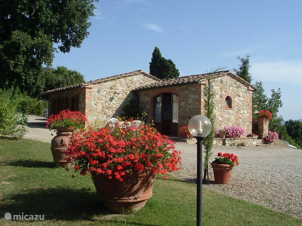 Vacation rental Italy, Tuscany, Casole d'Elsa - holiday house Casa Leccio