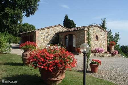 Vakantiehuis Italië, Toscane, Casole d`Elsa vakantiehuis Casa Leccio