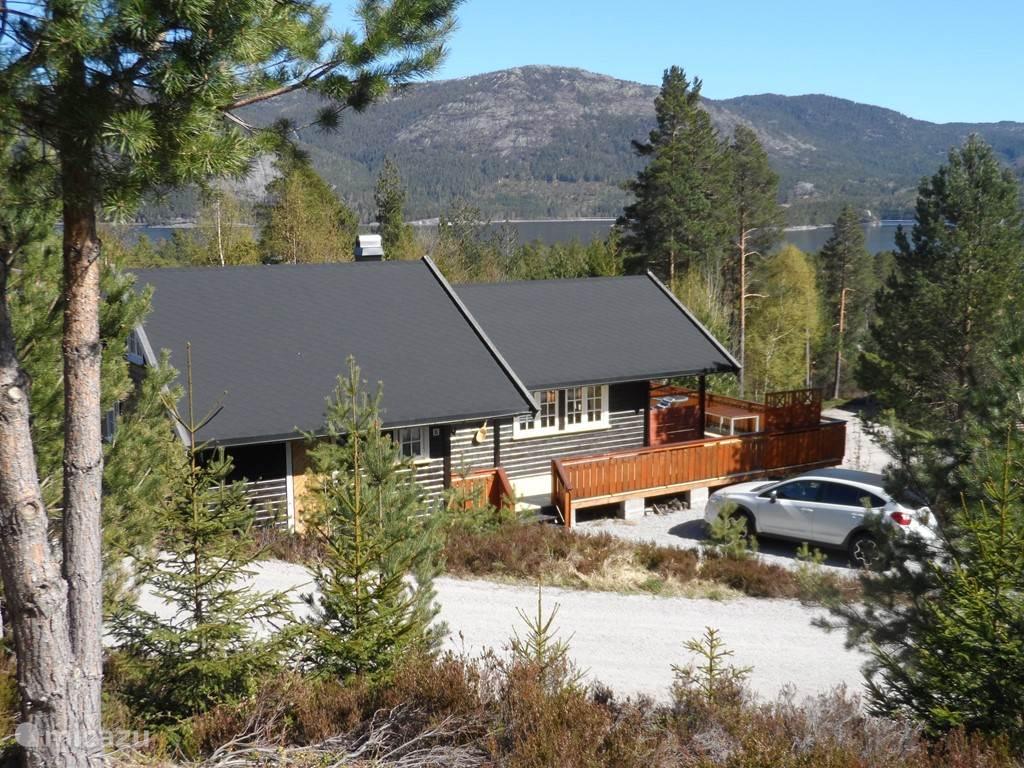 Vakantiehuis Noorwegen, Telemark, Treungen – vakantiehuis Het huis met de pollepel