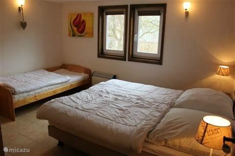 Appartement 2, de drie persoonsslaapkamer