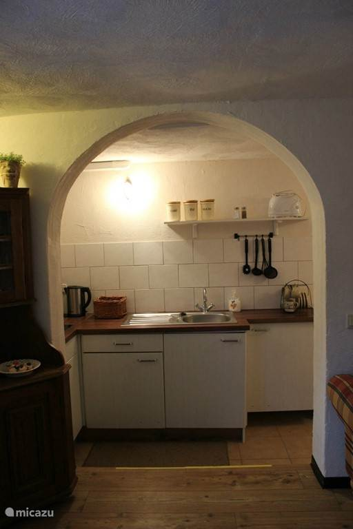 Appartement 3 de keuken