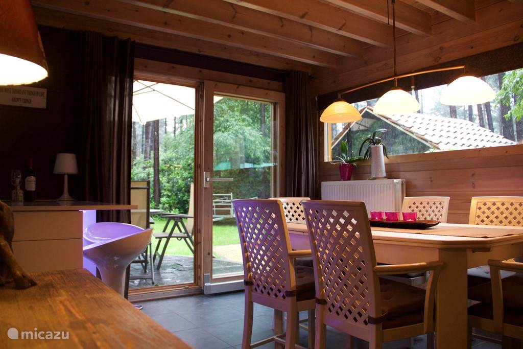 Dining room with views to the garden
