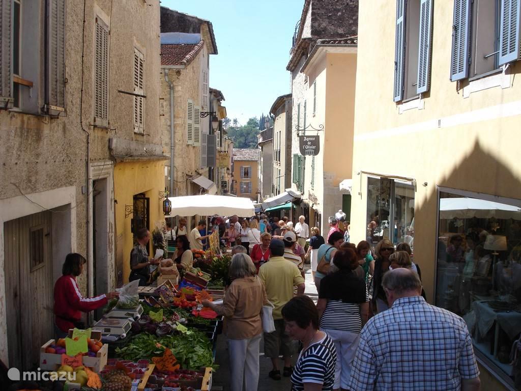 Markt in Valbonne