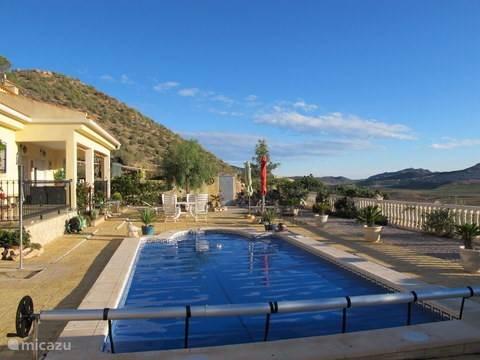 Jeu de boules, Spanje, Costa Blanca, La Canalosa, vakantiehuis Casa de la Colina