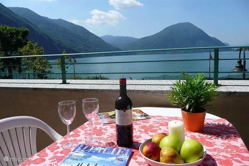 Vakantiehuis Italië, Italiaanse Meren, Porlezza Appartement Appartement meerzicht & pool P12.1