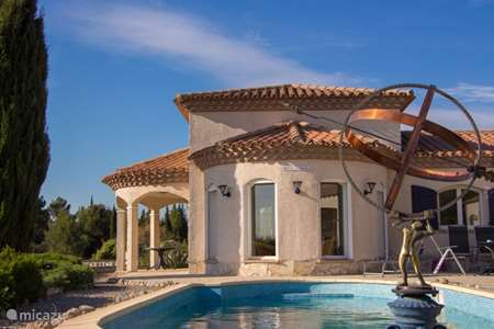 Vacation rental France, Hérault, Oupia villa Rose Vallea villa with pool France