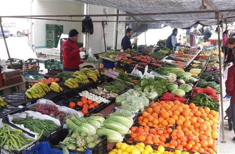 veel lokale markten
