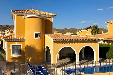 Vakantiehuis Spanje, Costa Cálida – villa ZonVakantieVilla