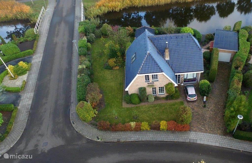 Vakantiehuis Nederland, Groningen – studio Studio op een schiereiland