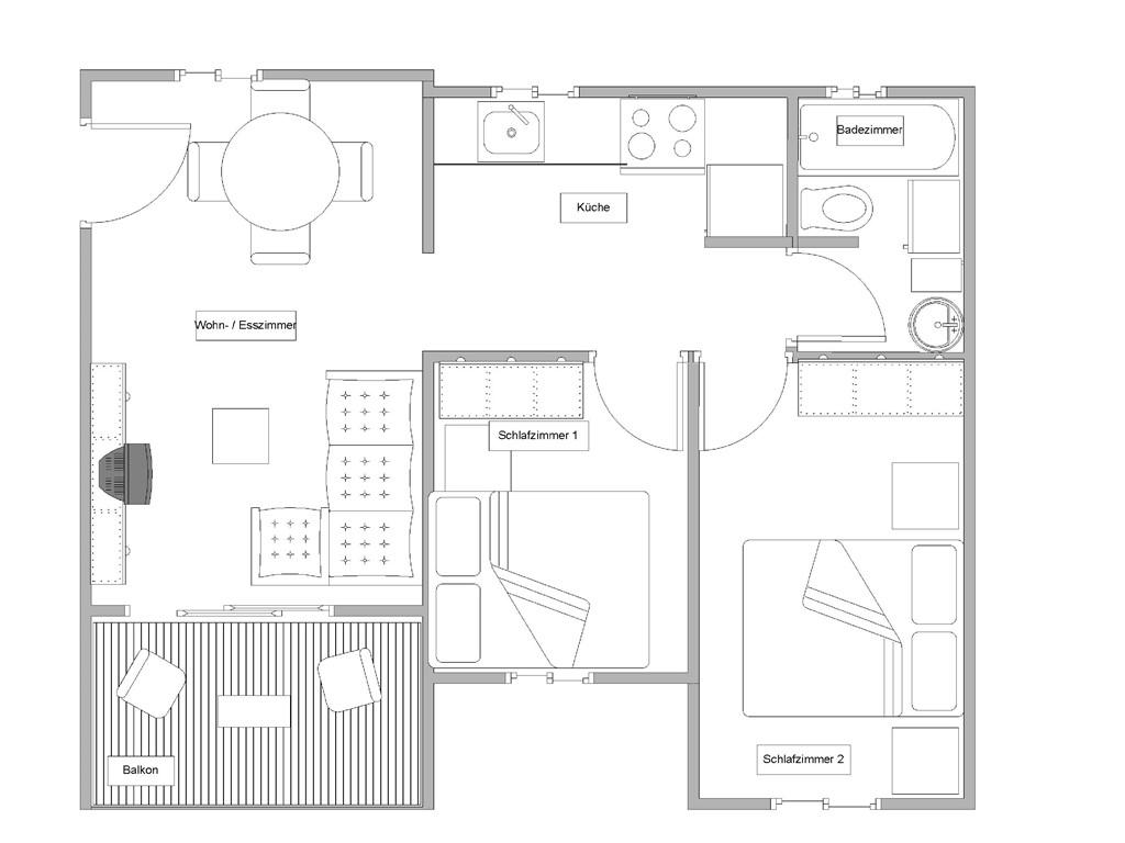 Badezimmer Aufteilung Neubau Wie Neubau Wohnung ...