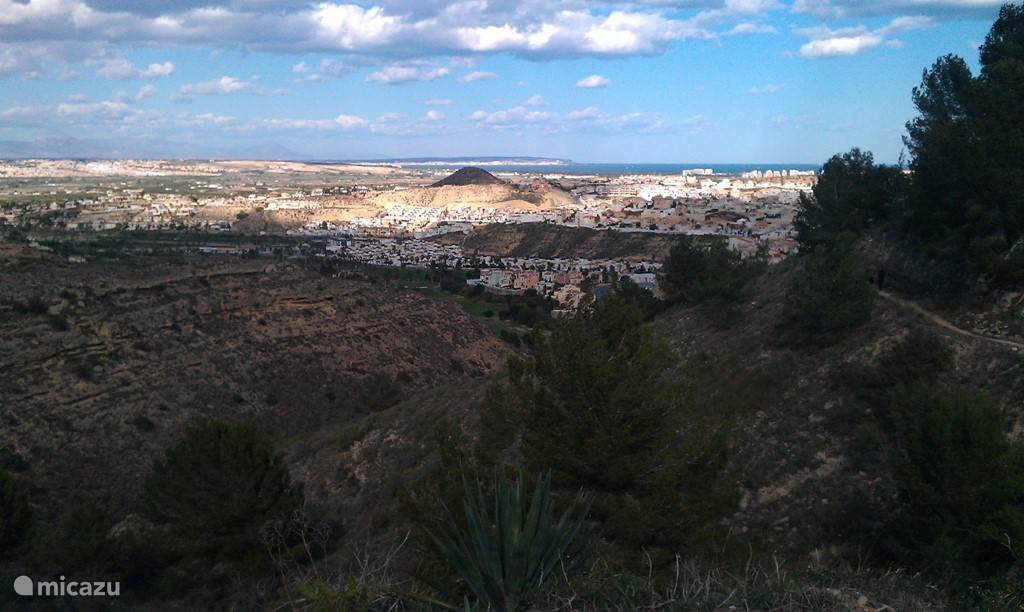 Uitzicht over Middellandse Zee