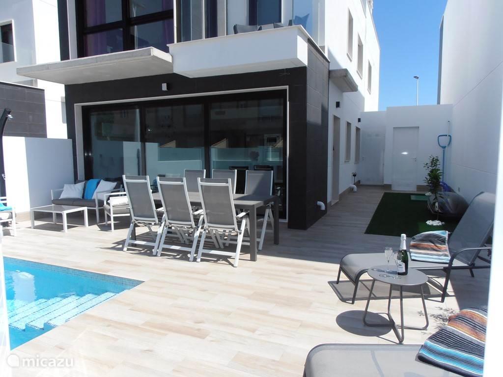 Vakantiehuis Spanje, Murcia, San Pedro del Pinatar - vakantiehuis Luxe huis te San Pedro