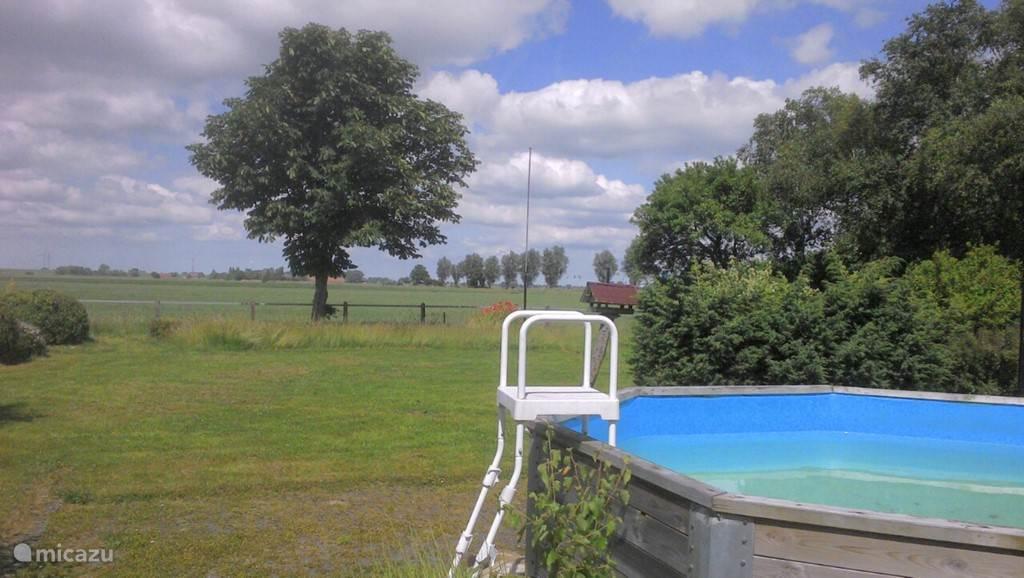 Met gebruik van zwembad!