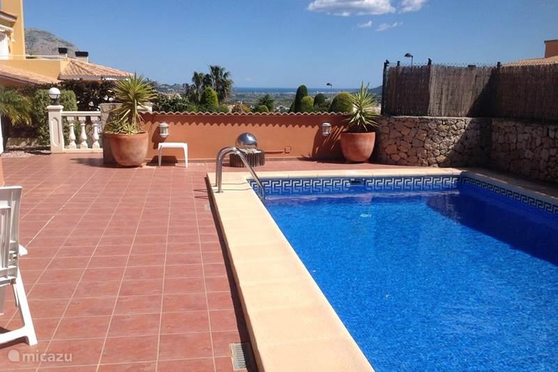 Ferienwohnung Spanien, Costa Blanca, Gata de Gorgos Villa Villa Marijke Spanien privater Pool