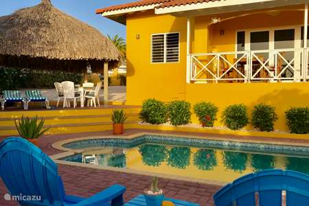 Vakantiehuis Curaçao, Banda Abou (west), Fontein villa Villa Meerfarbe
