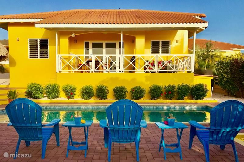 Vacation rental Curaçao, Banda Abou (West), Fontein Villa Villa Meerfarbe