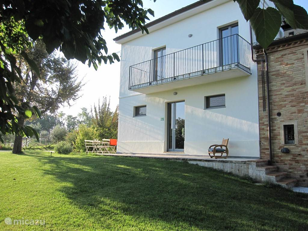 Vakantiehuis Italië, Marche, Belvedere Ostrense - vakantiehuis 5alberi