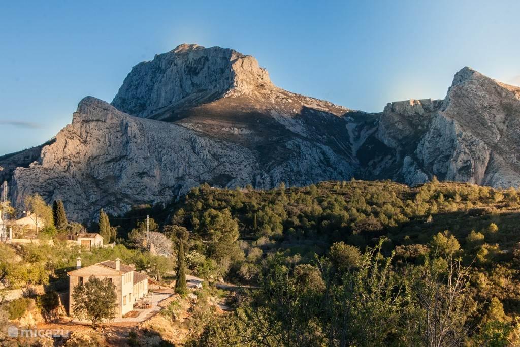 Vakantiehuis Spanje, Costa Blanca, Tàrbena Appartement Can Elisa - Appartement Oliva