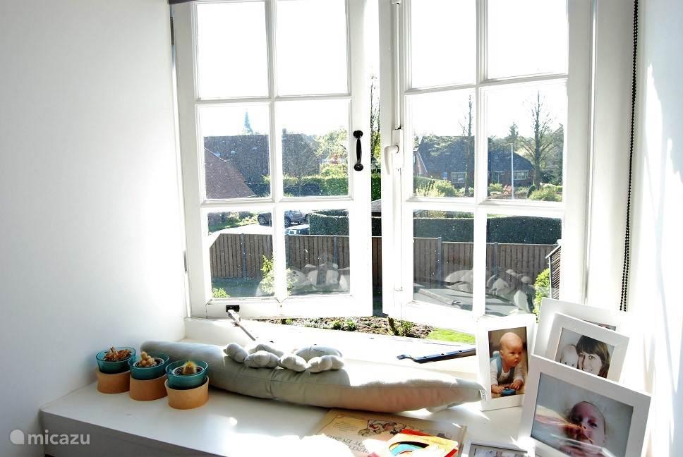 Uitzicht slaapkamer 3.