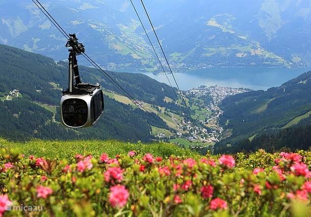 Kabelbaan naar de Schmittenhohe