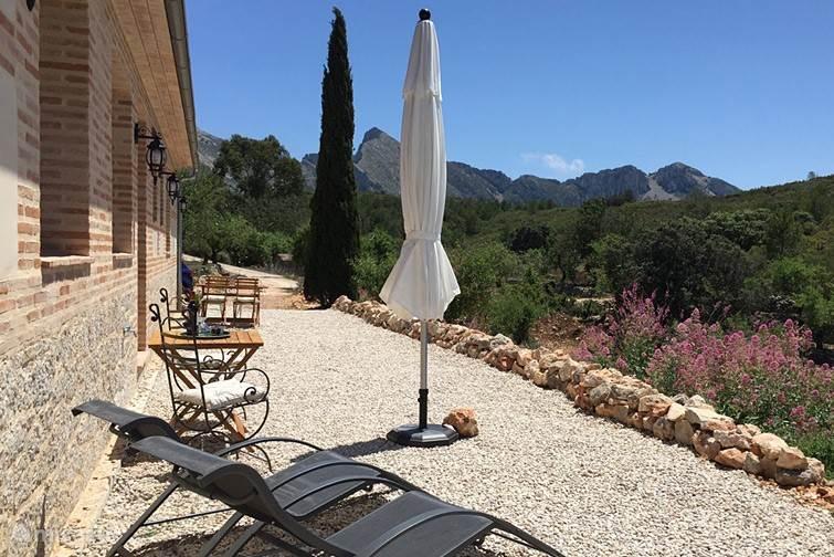 Ferienwohnung Spanien, Costa Blanca, Tàrbena - appartement Can Elisa - Apartment Almendra